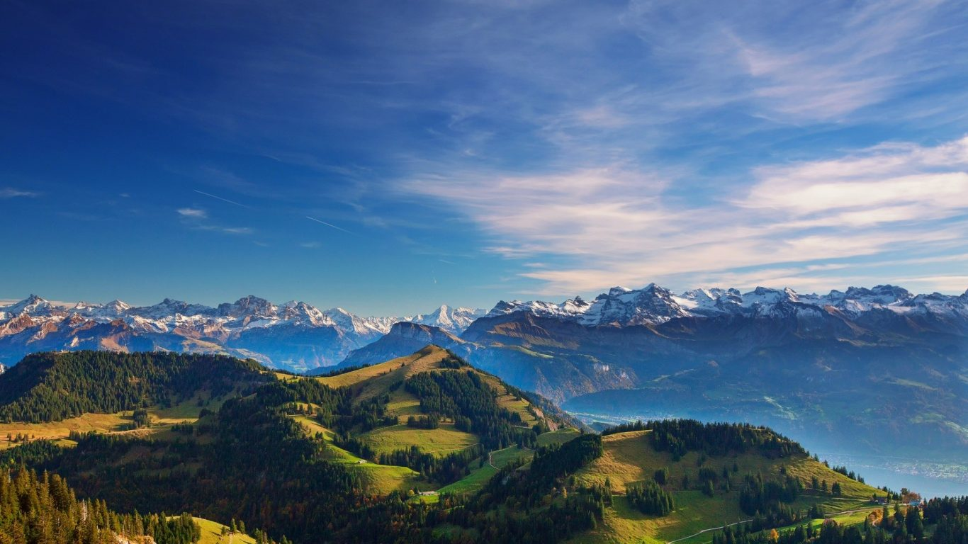 Ipad Hd Wallpaper Nature: Nature Alps Sky Scenery Mountains Ipad Wallpaper Hd